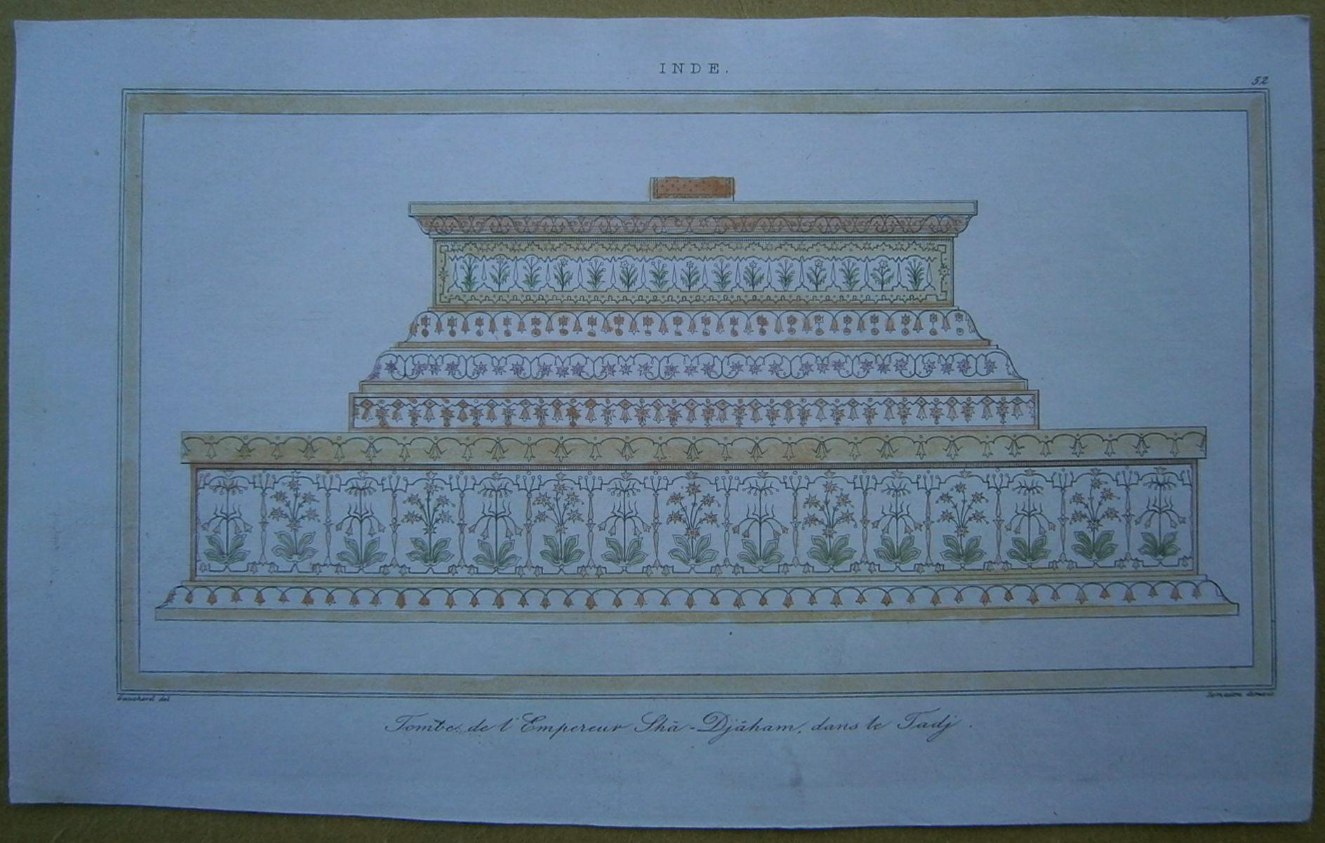 PAINTINGS PORTRAIT SHAH JAHAN MUGHAL EMPEROR INDIA ART POSTER PRINT LV3399