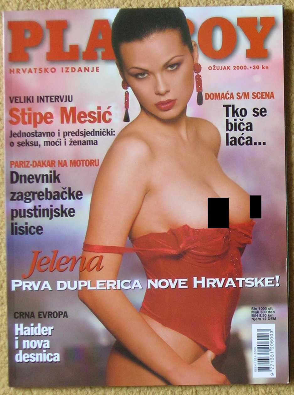 Angie Everhart Playboy details about playboy croatia march 2000 - angie everhart